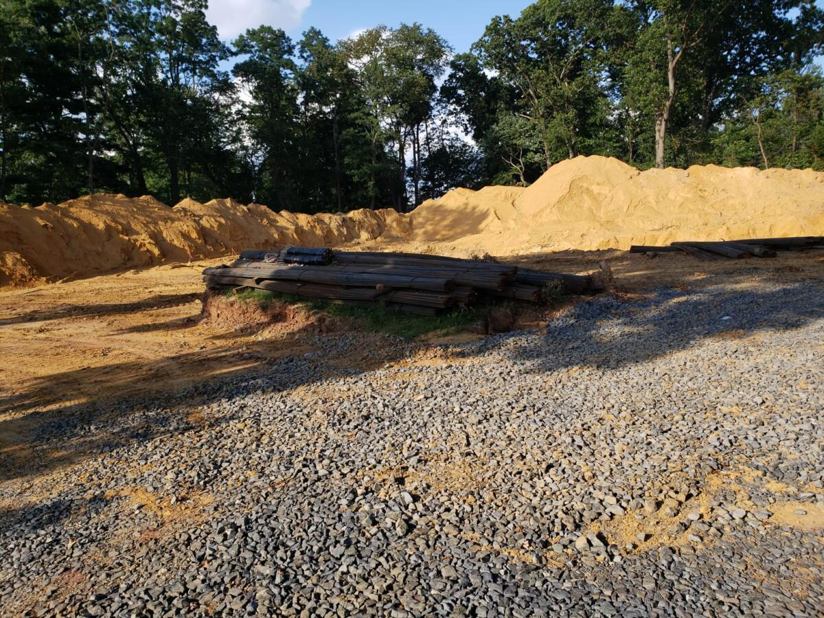 Foundation of our new mosque.